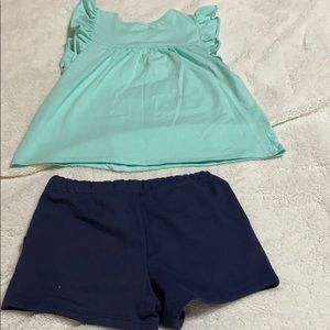 Garanimals & Jumping Beans Matching Sets - Toddler Pullover Short and Shorts.